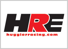 Huggler Racing Dealer Logo