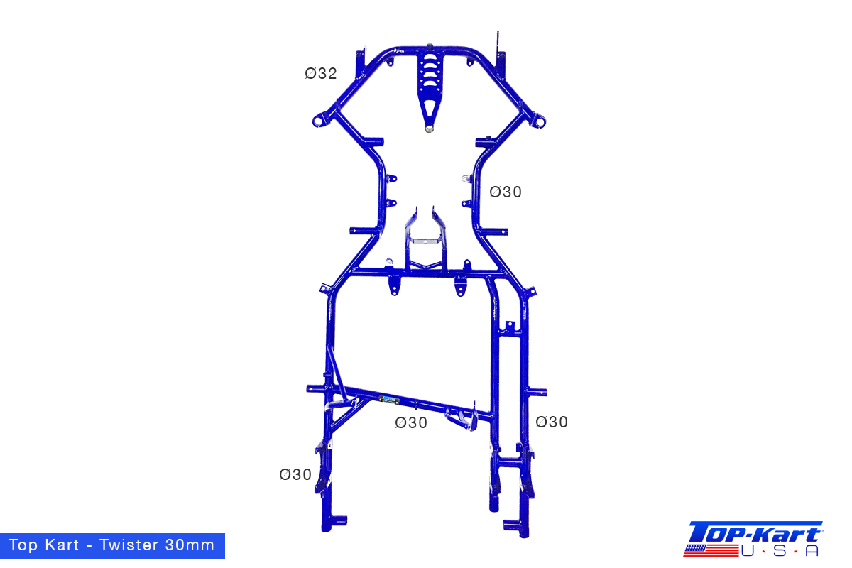 Top Kart USA - Twister Kart Racing Chassis
