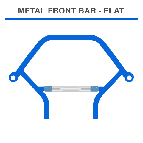 Top Kart USA - Metal Bar IN-flat