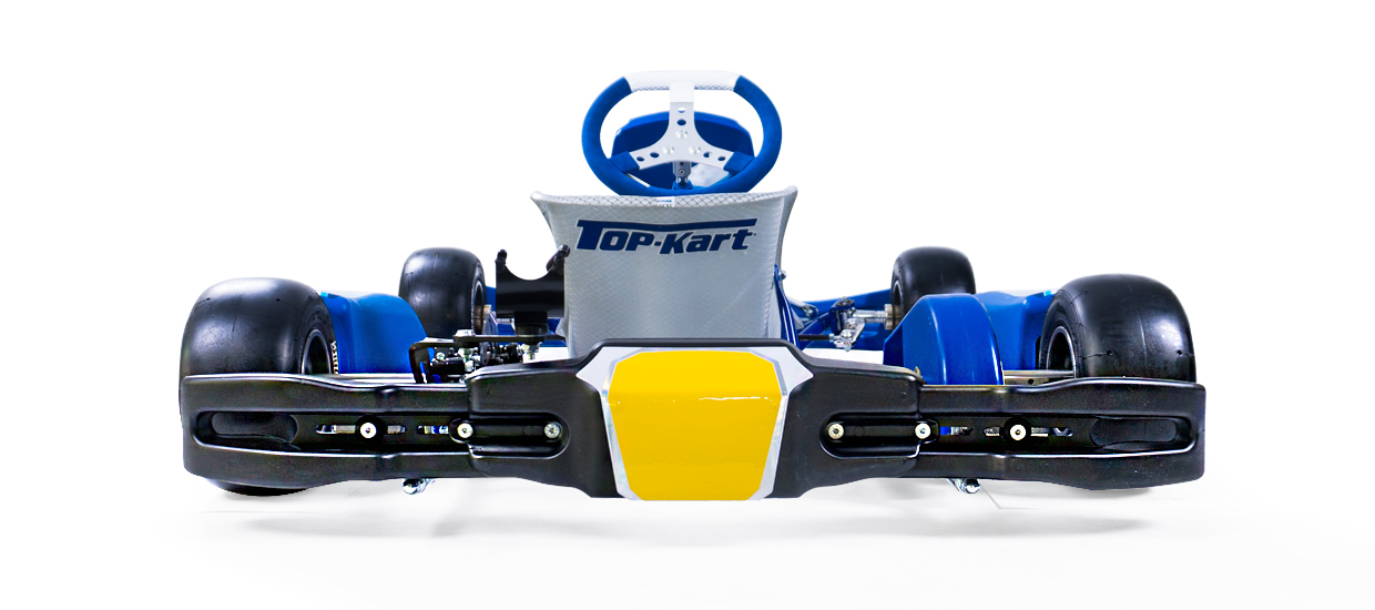 Top Kart USA - Mini Blue Eagle Kart Racing Chassis