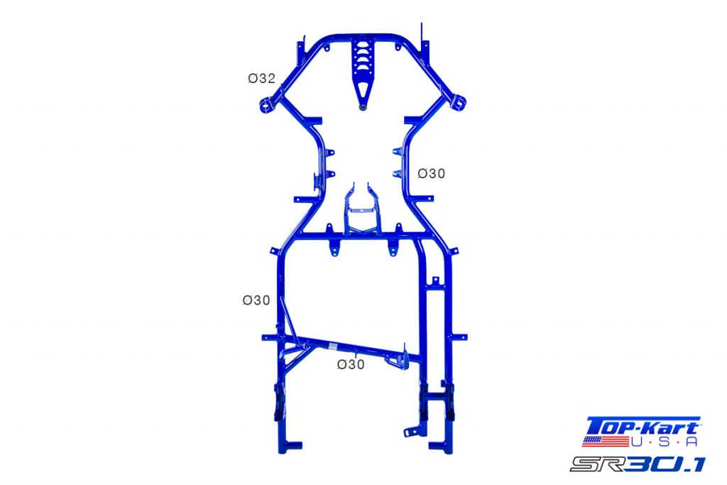 Top Kart USA - Twister Kart Racing Chassis